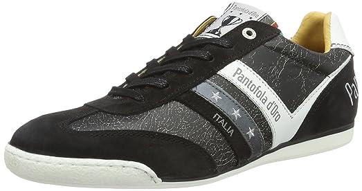 Pantofola D'oro Savio Romagna Uomo Low, Zapatillas para Hombre, Schwarz (Black), 45 EU