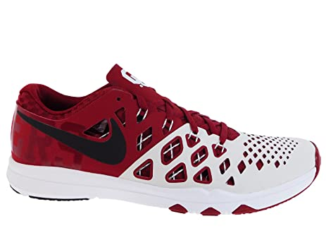 Nike Mens Train Speed 4 Team Crimson/Black/White Synthetic Cross-Trainers  Shoes