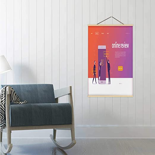 Amazon Com Hitecera Vector Web Page Concept Design With Online Review Theme Illustration Russia Poster Frames Discussion 16 19 24 Frams 19x29in Wxh Posters Prints