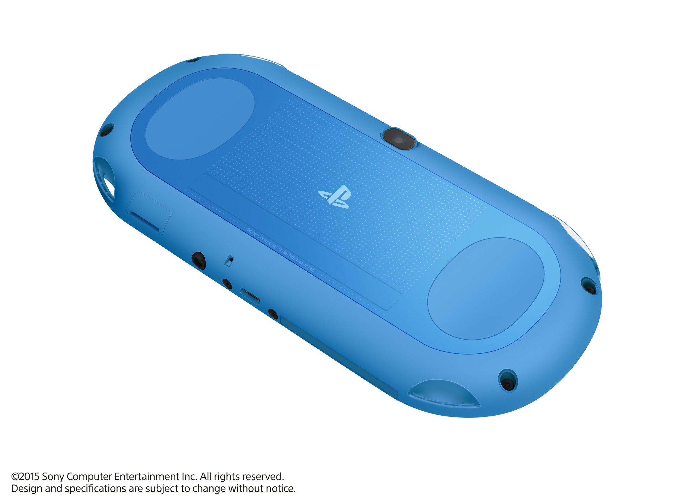 PlayStation Vita Wi-Fi model Aqua Blue (PCH-2000ZA23) Japanese Ver. Japan Import by Sony (Image #5)
