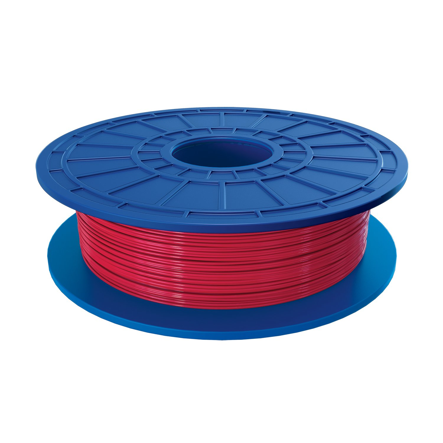 Dremel PLA 3D Printer Filament, 1.75 mm Diameter, 0.5 kg Spool Weight, Red