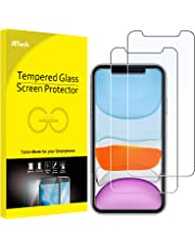 JETech Screen Protector for Apple iPhone 11 and iPhone XR 6.1-Inch, Tempered Glass Film, 2-Pack