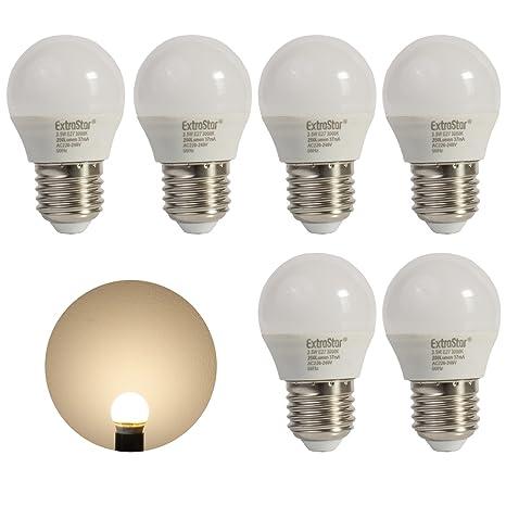 Especial Acción: 6 x LED lámpara E27 3,5 W extra Star® Bola