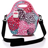 Lunch Tote Women,Vaschy Big Girls' Neoprene Insulated Lunch Container One Size