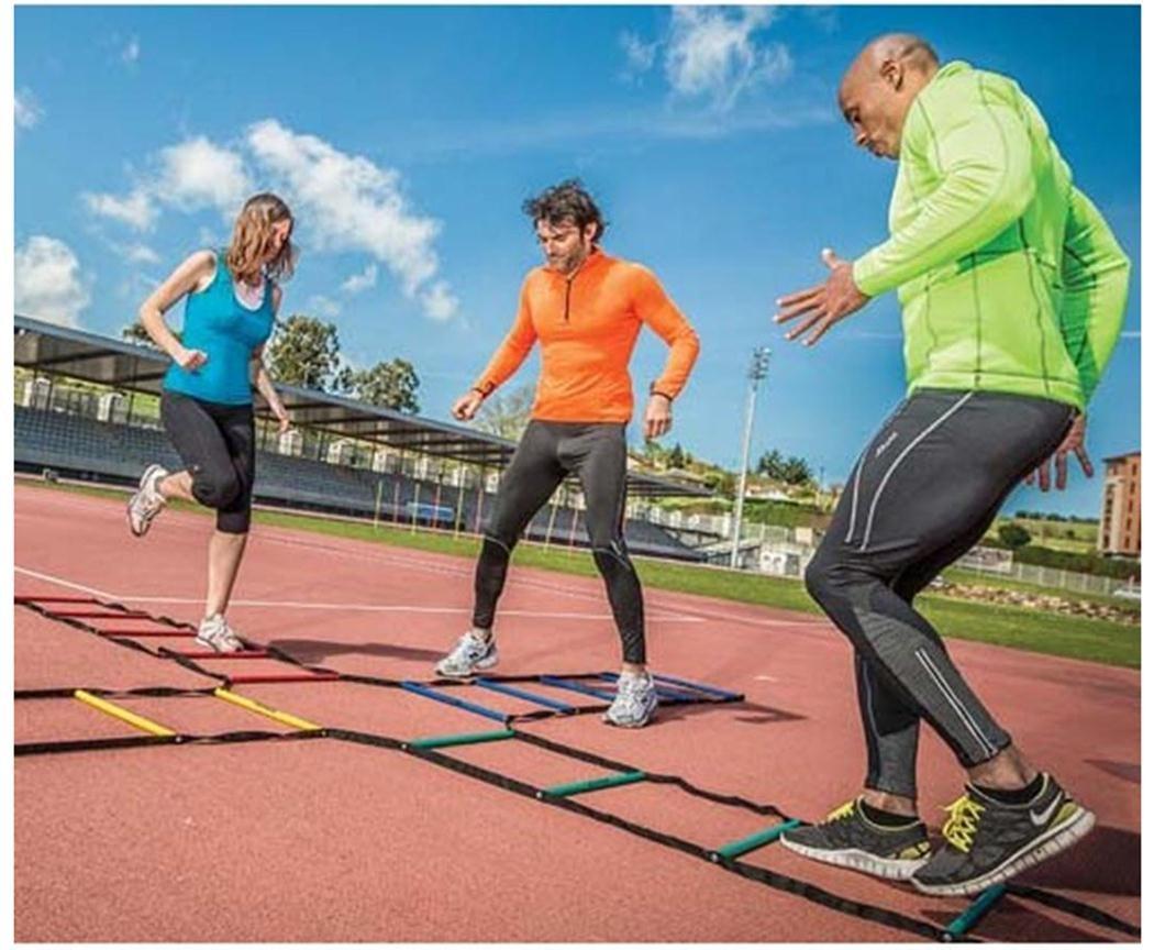 Atreq Soccer Sports Fitness Speed Agility Feet Training Cross Ladder