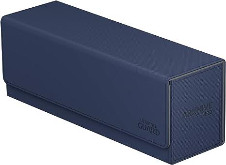 ULTIMATE GUARD ARKHIVE AMBER XENOSKIN FLIP 400 DECK CASE Card Storage Box MTG