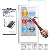 Glass Screen Protector,For iPod Nano 7 & 8th Generation Nacodex Tempered Glass Screen Protector (For iPod Nano 8)