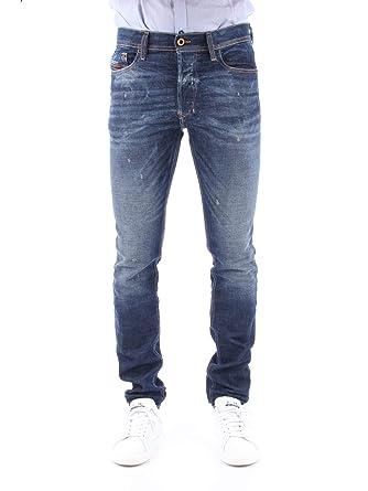 feb523c9f42c0 DIESEL Jean Slim Homme: Amazon.fr: Vêtements et accessoires