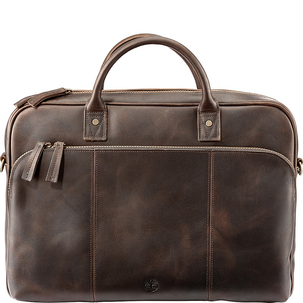 Timberland Men's Tuckerman Leather Briefcase