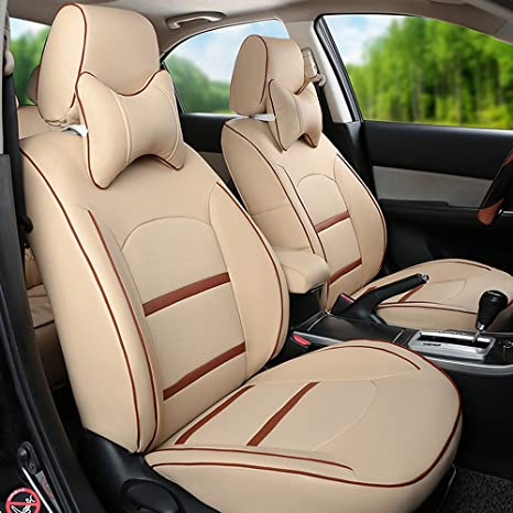 Terrific Amazon Com Customize Fit Leatherette Car Seat Cover Sets Pdpeps Interior Chair Design Pdpepsorg