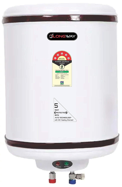 Longway HOTPLUS 35LTR 5 Star Storage Geyser Water Heater, 5