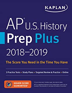 Amazon ap biology prep plus 2018 2019 2 practice tests study ap us history prep plus 2018 2019 3 practice tests study plans fandeluxe Image collections