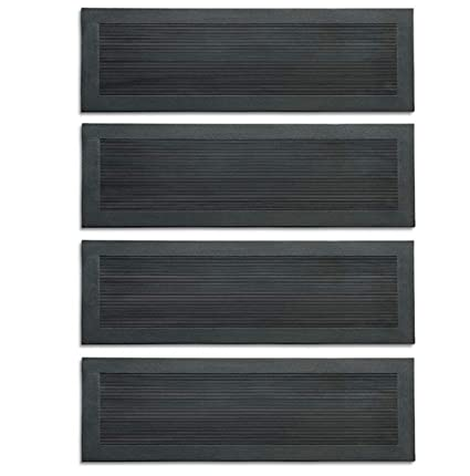 30u0026quot; Textured Rubber Stair Treads With Grips ...