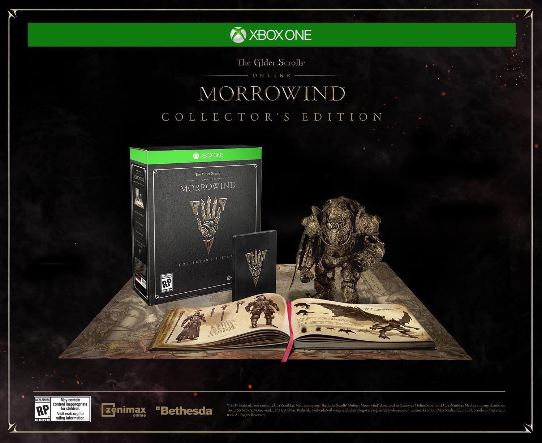 Amazon com: The Elder Scrolls Online: Morrowind Collector's