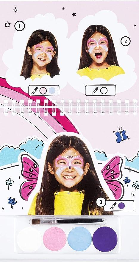 Mini kit maquillaje niña Snazaroo con cuaderno - Única: Amazon.es: Juguetes y juegos