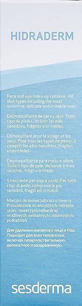 Amazon.com: Sesderma Hidraderm Cleansing Lotion, 6.8 Fl Oz: Luxury Beauty