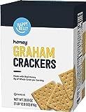 Amazon Brand - Happy Belly Honey Graham Crackers, 28.8 Ounce
