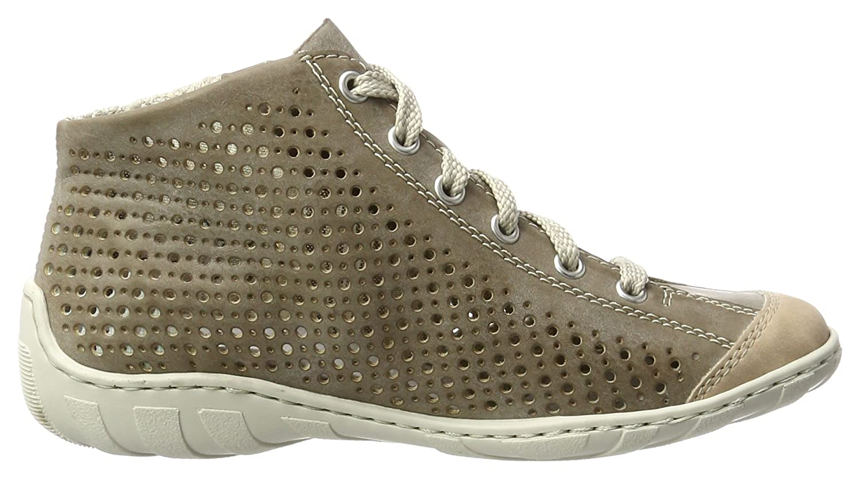 Womens M3727 High Top Sneaker Rieker svwxfYNoUW