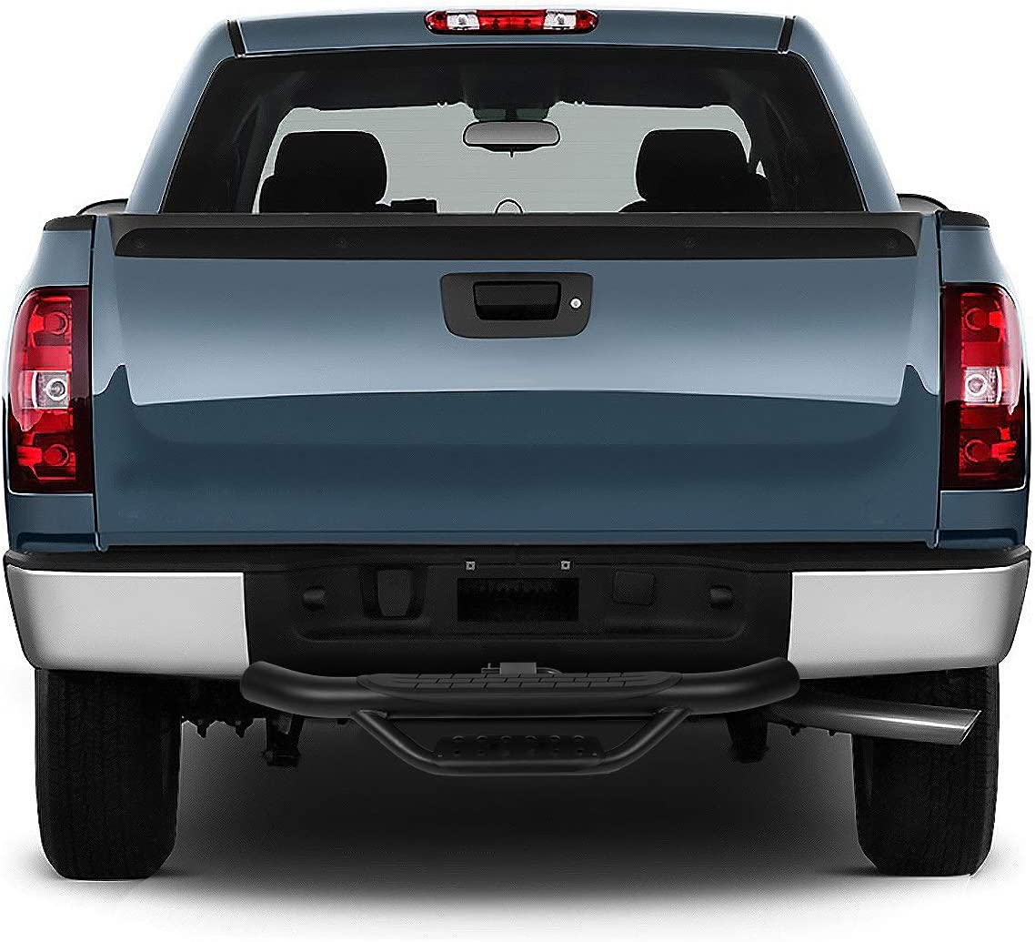 DNA Motoring PT-ZTL-8084-BK Universal Trailer Truck Towing Hitch Step Bar 36 Wide x 4 OD 2 Receiver,Black