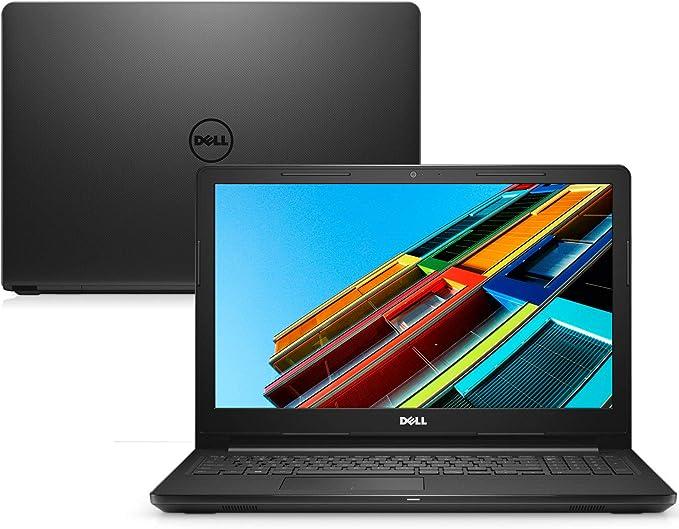 "Notebook Dell Inspiron 15 3000, i15-3567-A40P, 7ª Geração Intel Core i5-7200U, 8 GB RAM, HD 1TB, Intel® HD Graphics 620, Tela 15.6"" LED HD, Windows 10, Preto"