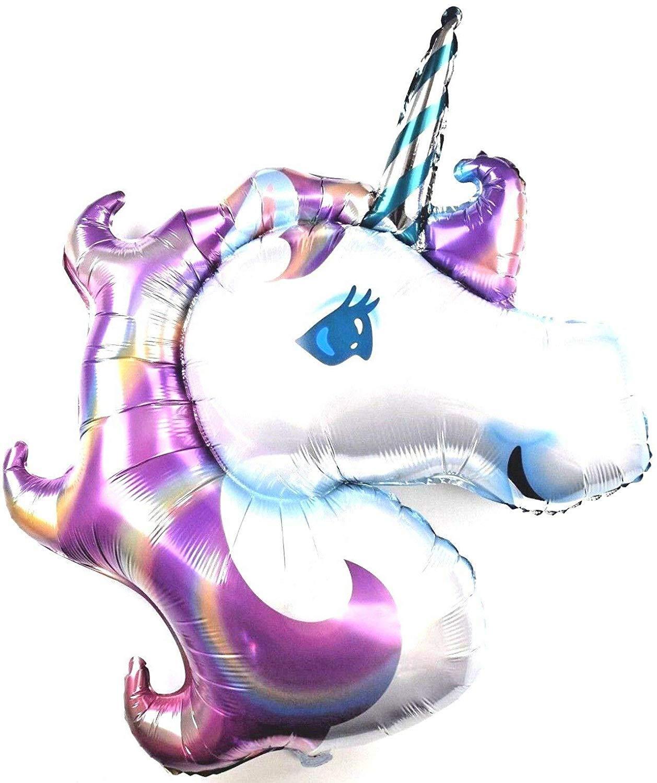 Bundles 3X R21F1 XXL Púrpura Unicornio Helio Globo de Plástico ...