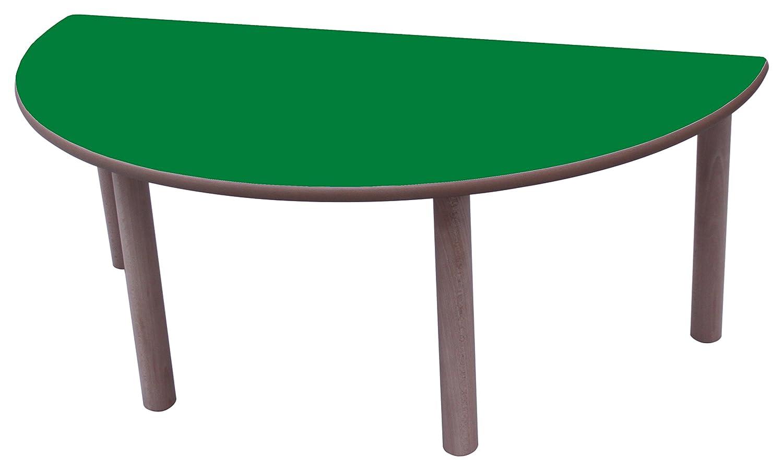 Haya Y Grün Oscuro 120 cm, Größe 3 Mobeduc Flachrundzange Kindertisch, 120 cm, Holz 120 cm, Größe 3 Haya y Grün Oscuro