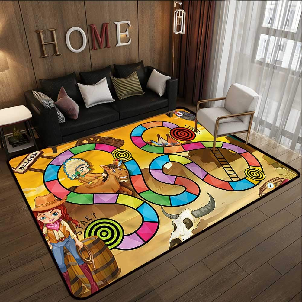 Magnificent Amazon Com Rectangular Rug Board Game Swirled Snakes Bralicious Painted Fabric Chair Ideas Braliciousco