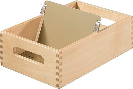 Han 506-0 - Caja para archivar fichas (madera, capacidad para 900 ...