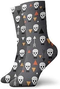 chaussettes tête de mort velo 3