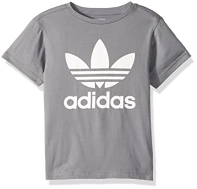 e13ce18971 Amazon.com: adidas Originals Kids' Originals Trefoil Tee: Clothing