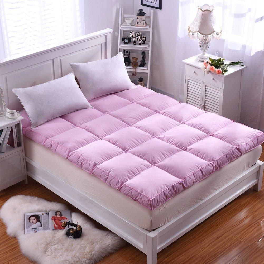 HYXL Thickened tatami floor mat, Soft mattress, Short plush 1.8m bed mattress, Double folding mattress Traditional japanese floor futon mattresses-D 135x200cm(53x79inch)