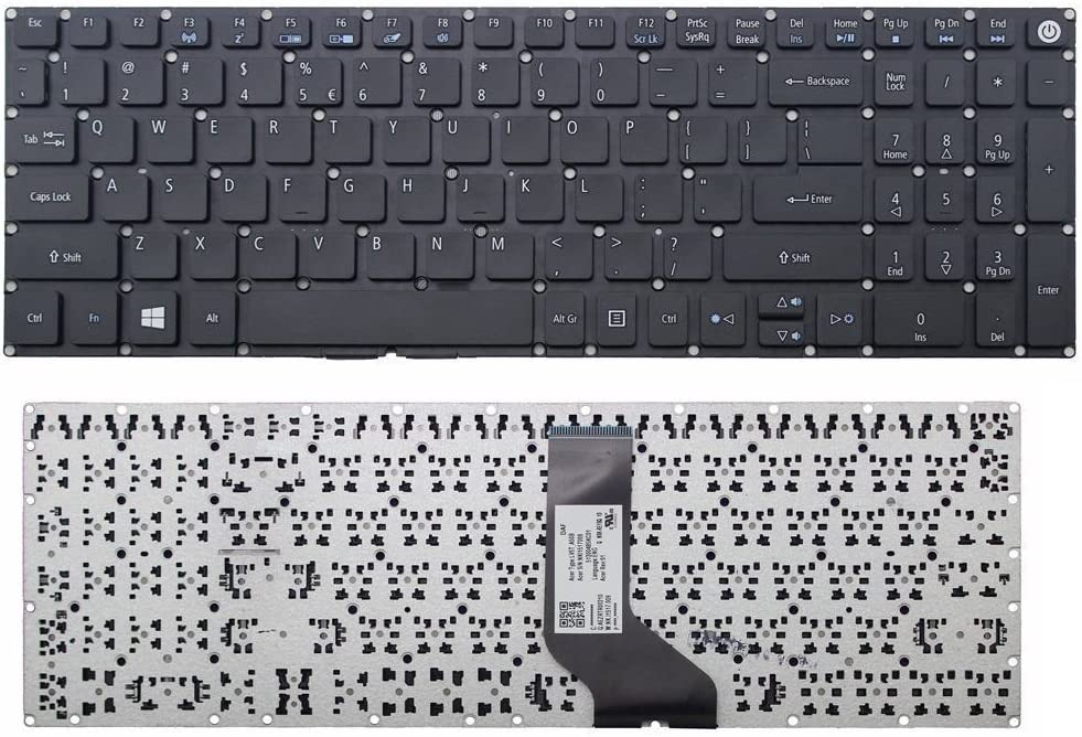 New Us Black English Laptop Keyboard Without Palmrest For Acer Aspire 7 A715 71 A715 71g A715 71g 71nc A715 72 A715 72g A717 71 A717 72 A717 72g A717 72g 551a Amazon Ca Electronics