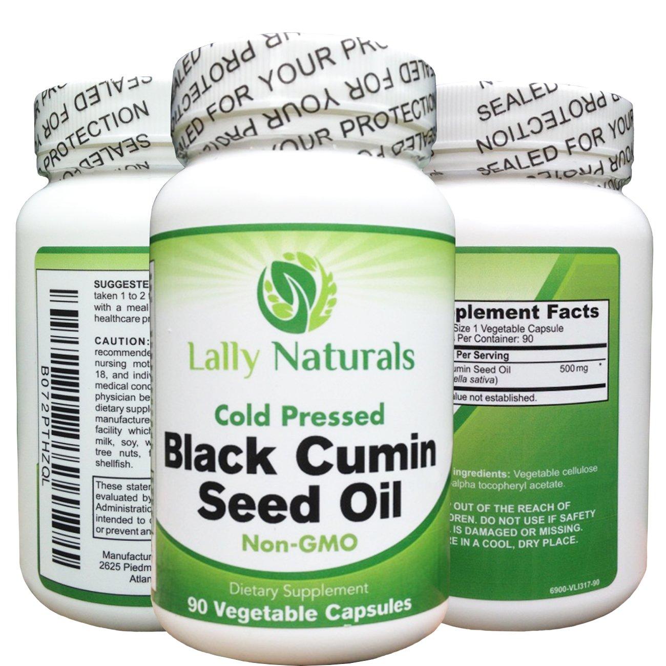 Amazon.com: Aceite de Semillas de comino negro Suplemento ...