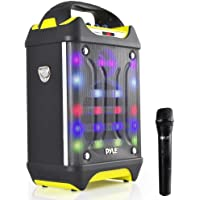 Deals on Pyle Pro Portable Bluetooth Karaoke Speaker System
