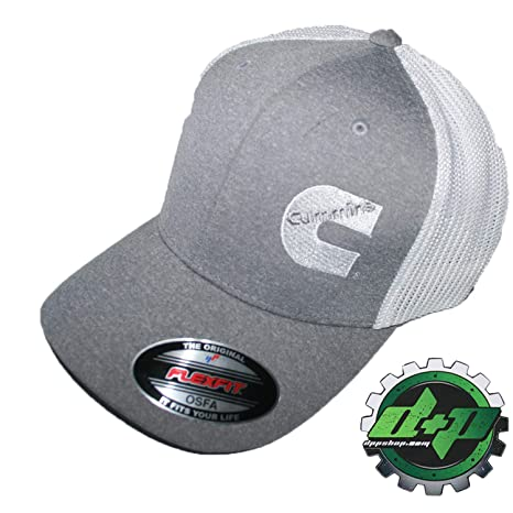 Image Unavailable. Image not available for. Color  Cummins hat Ball Cap  Fitted Flex fit Flexfit Stretch Cummings ... fa845ca133e7
