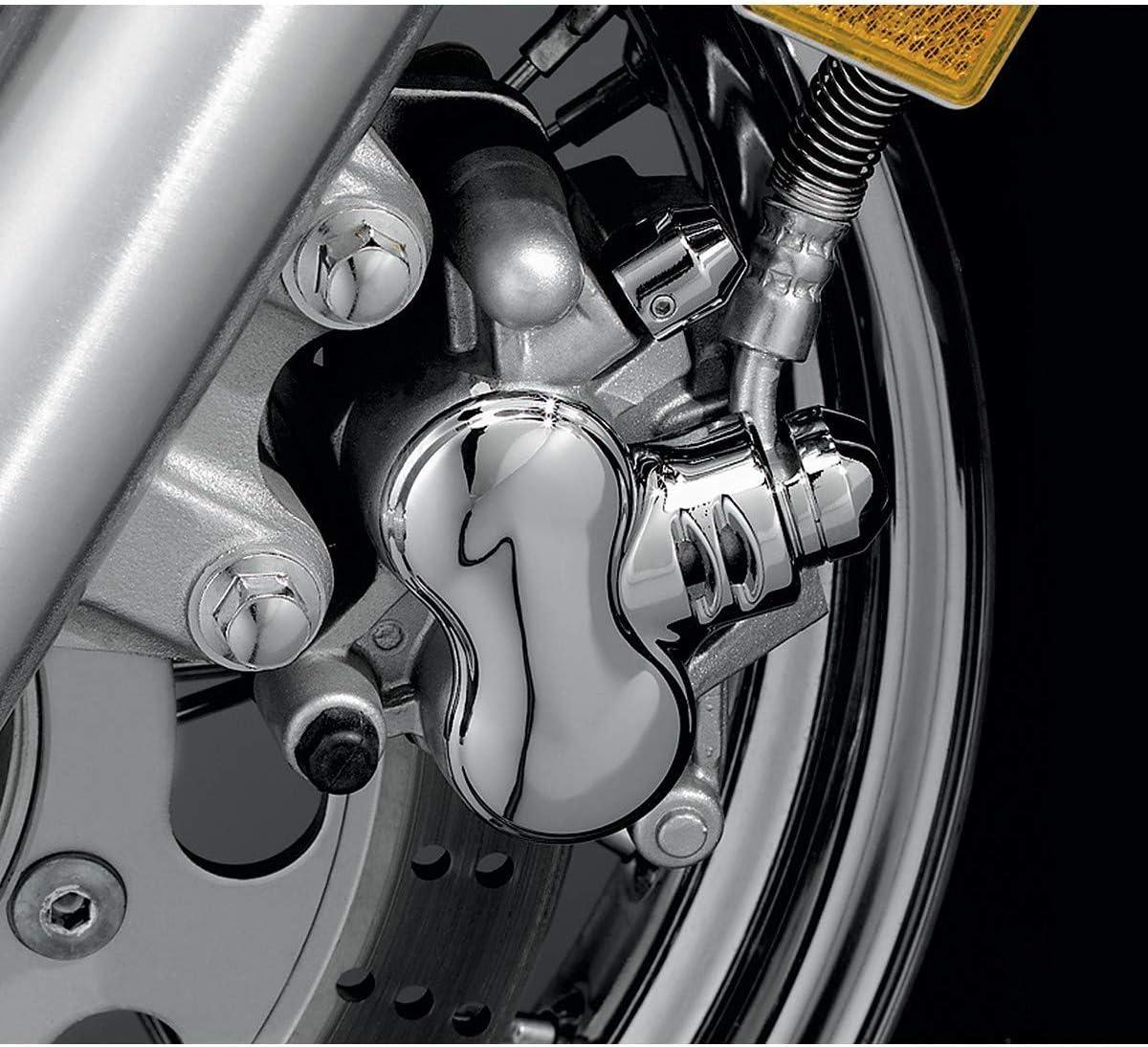Kuryakyn Chrome Caliper Cover Kawasaki VN Suzuki VL800 C50 Yamaha XVS950 1100 1300