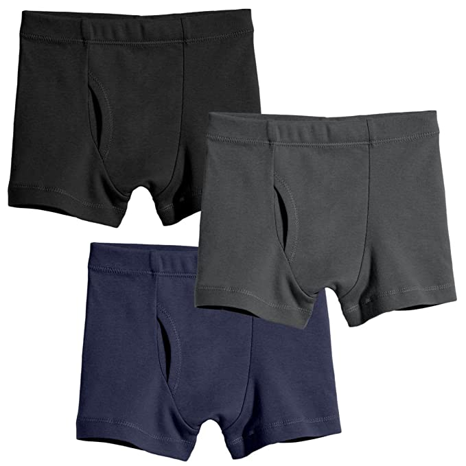 City Threads Boys' Boxer Briefs Underwear In 100 Percents Organic Cotton Made In Usa by City Threads