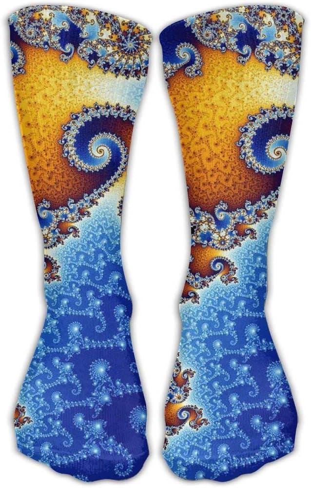 Amazon.com: Calcetines deportivos de espiral con diseño de ...