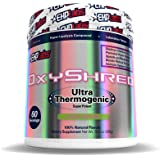 EHPlabs OxyShred Thermogenic Fat Burner Boost Metabolism, Low Stimulant, Destroy Stubborn Fat Cells (Guava Paradise)