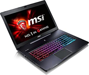 """MSI GS70 Stealth Pro-006 17.3"""" SLIM AND LIGHT GAMING LAPTOP NOTEBOOK i7-6700HQ Geforce GTX970M 16GB 128GB SSD+1TB WIN 10"""