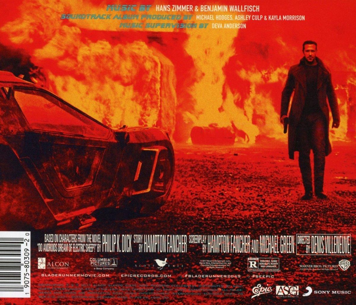 Hans Zimmer Benjamin Wallfisch Blade Runner 2049 Original Motion Picture Soundtrack Amazon Com Music