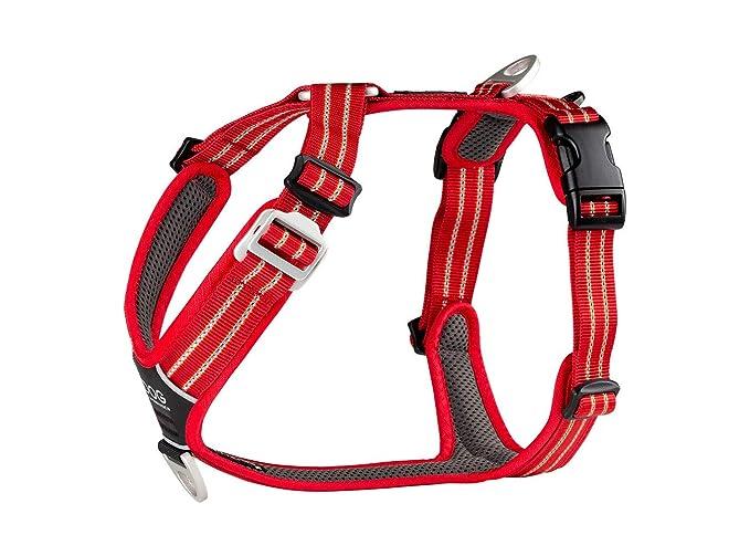 DOG Copenhagen WH-CR Comfort Walk Air - Arnés clásico, Color Rojo ...