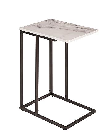 Serta Harton C Shape Side Table, Black