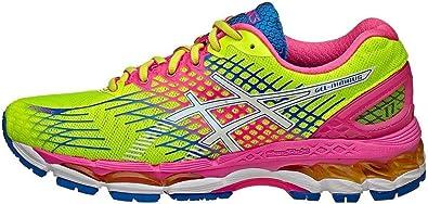 Asics - Zapatillas de running de mujer gel nimbus 17: Amazon.es: Zapatos y complementos