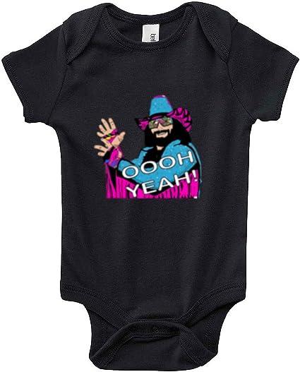 The Silo BLACK Macho Man Randy Savage WWF Baby 1 piece