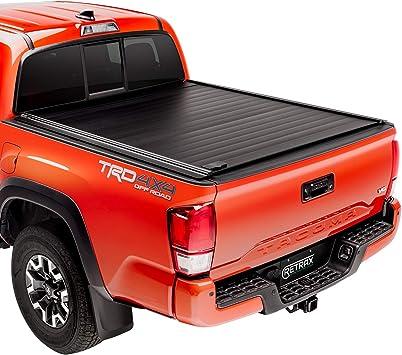 Amazon Com Retraxpro Mx Retractable Truck Bed Tonneau Cover 80851 Fits 2016 2021 Tacoma Double Cab 5 1 Bed 60 5 Automotive