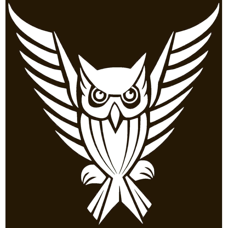 amazon spreading wings owl vinyl sticker decal 2 85 x 3 Bird of Prey Track amazon spreading wings owl vinyl sticker decal 2 85 x 3 lavender lace automotive