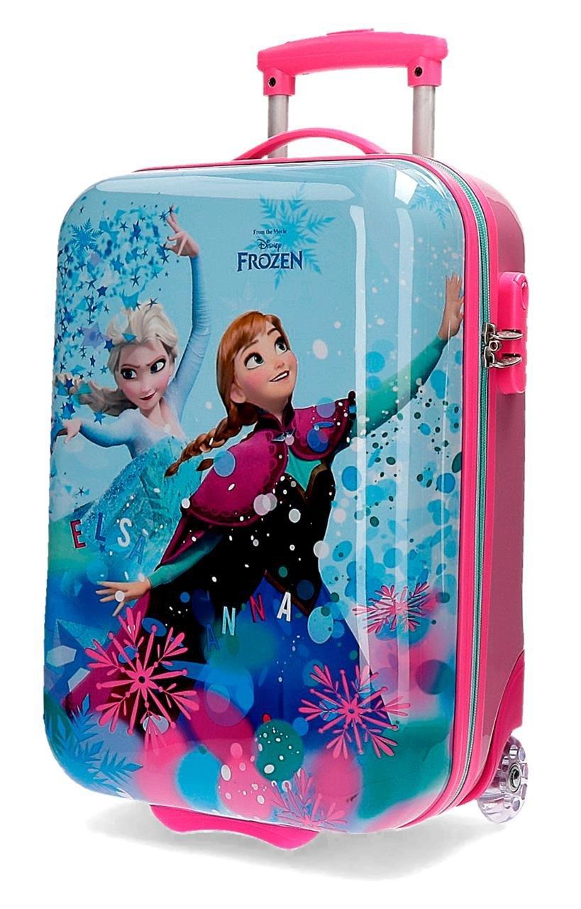 0f812ff2b Disney Frozen 4190361 Equipaje infantil, Maleta de 50 Centímetros, 26  Litros, Elsa, Anna -1Multicolor: Amazon.es: Equipaje