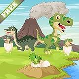 Dinosaurios juego para niños pequeños y niños : descubrir el mundo jurásico de los dinosaurios ! GRATIS