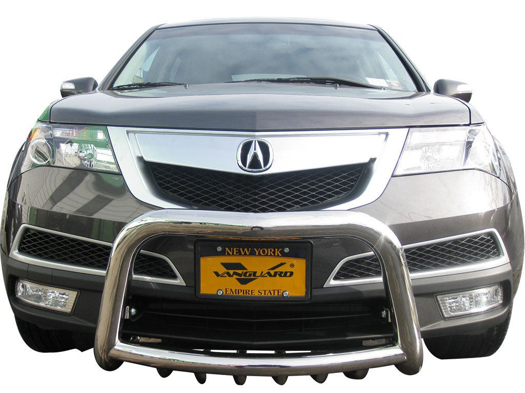 Amazon com vanguard 2014 2016 acura mdx bull bar with skid tubes s s automotive